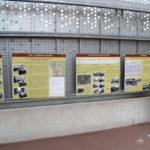 Gare de Charonne, panneaux
