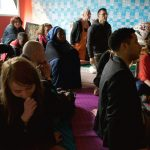 Public dans la cabane Davout